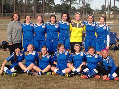 98 Girls Win 2014 TFC Friendlies