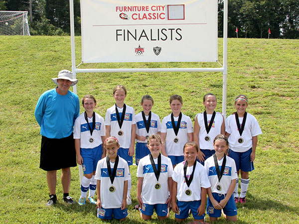 U11 Girls Make the 2013 Furniture City Finals